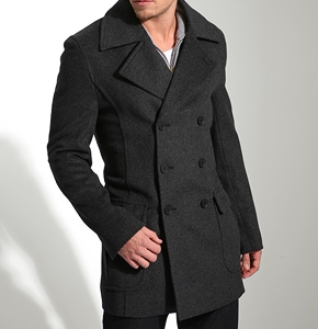 How Men Can Find the Best Fitting Pea Coat - Dressed to Kill