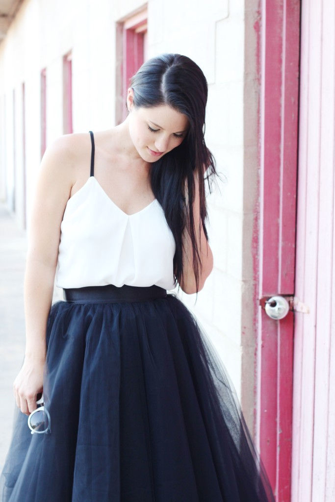 Black Tutu | how to wear a tutu | how to style a tutu | summer fashion tips | summer outfit ideas | summer style tips | what to wear for summer | warm weather fashion | fashion for summer | style tips for summer | outfit ideas for summer || Dressed to Kill